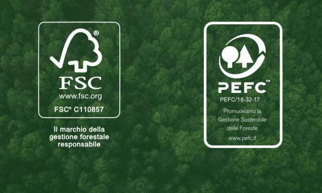 Certificati FSC® e PEFC™ di gruppo